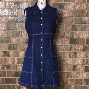 NWOT PARIS BLUES ORIGINALS Fabulous Denim Dress